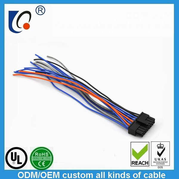 Supply wire harness connector product line-Auto Cables/Harness-Wire on
