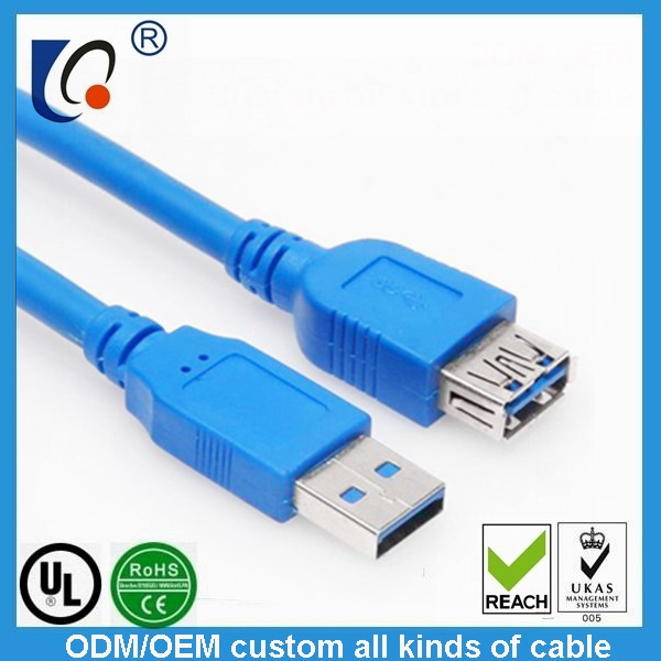 customUSB 3.0  A male to A female extension cable
